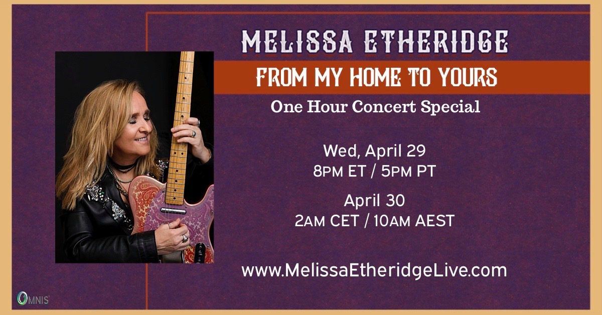 Melissa Etheridge Livestream